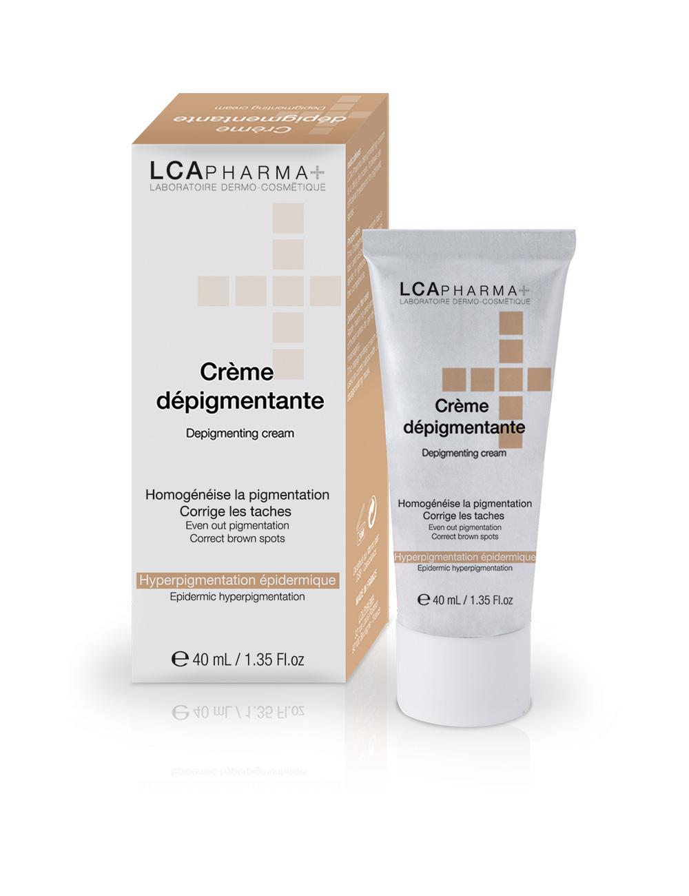 Crème dépigmentante